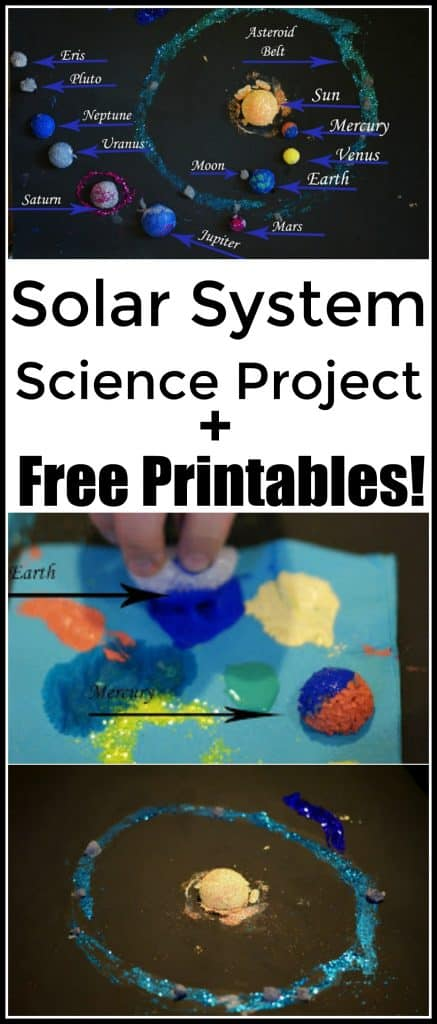 Solar System Science Project and Free Printables