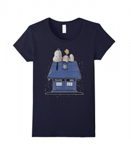 Doctor Who Snoopy Shirt