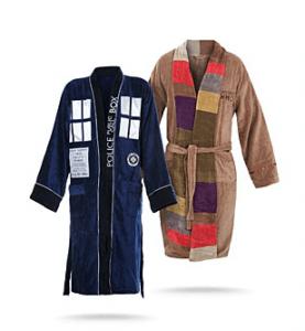 Doctor Who Bath Robe