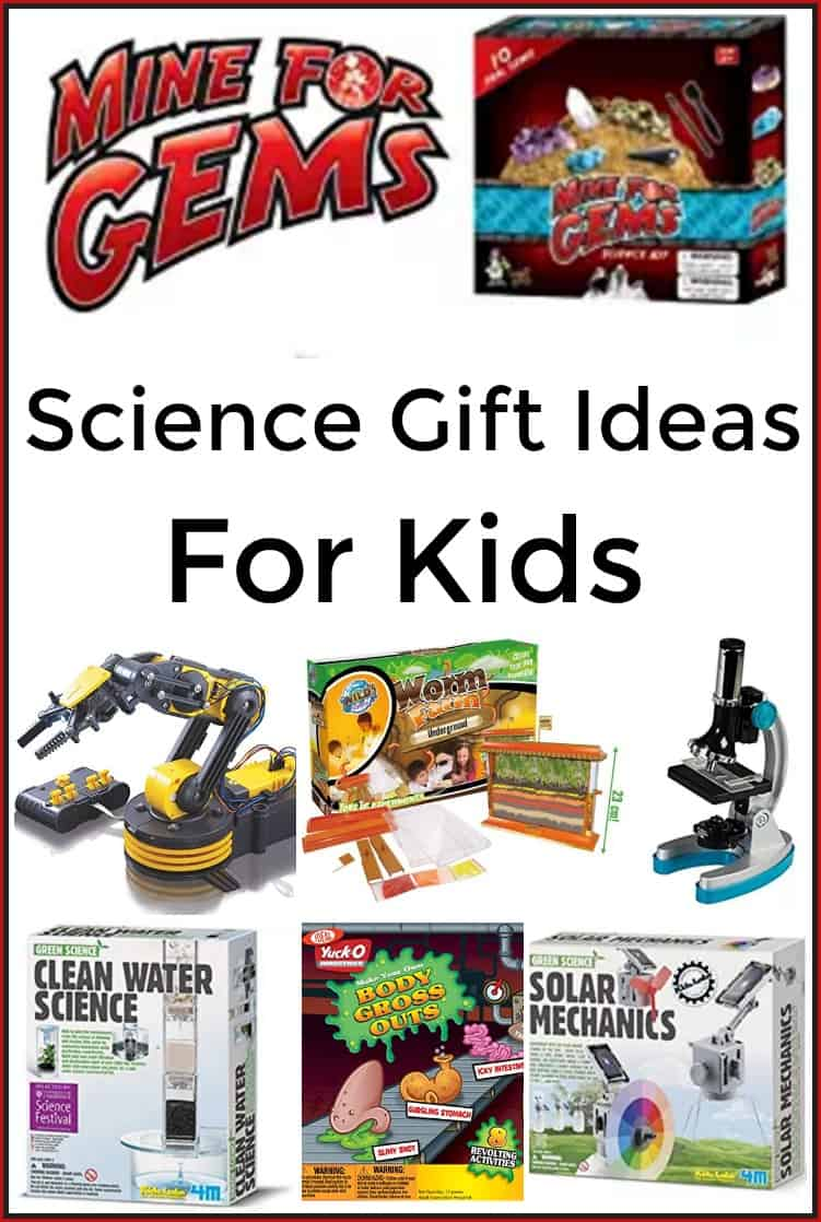 Scienec Gift Ideas for Kids - 7 Great Gifts for a Kid who loves Science!