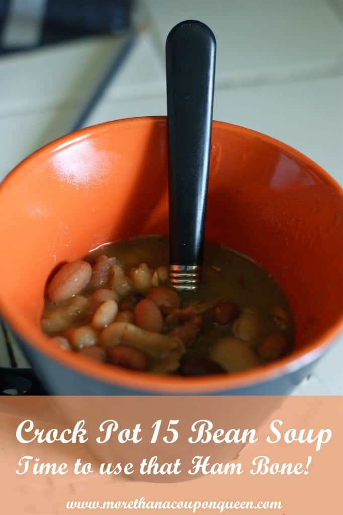No soak Crock Pot 15 Bean Soup