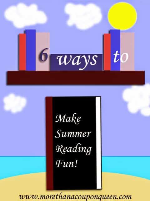 6 ways to make summer reading fun! - #SummerReading #Summer #reading #education #edchat #homeschool