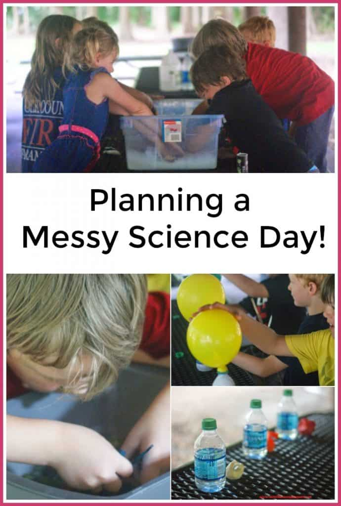 Planning a Messy Science Day