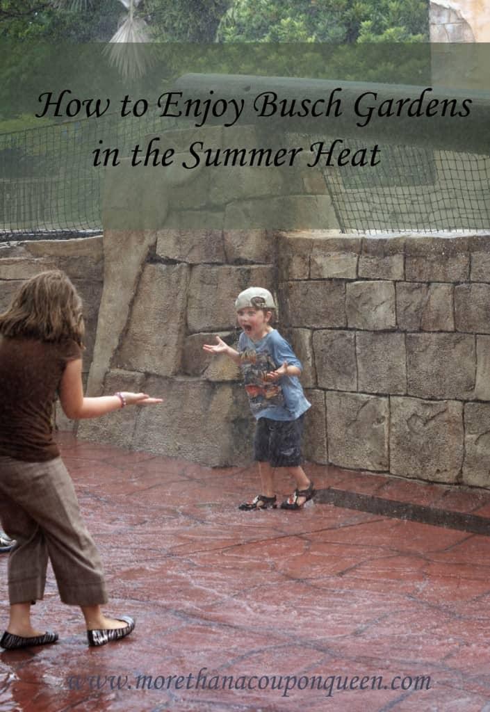 How to Enjoy Busch Gardens in the Summer Heat - #Travel #BuschGardens #Tampa #SummerFun