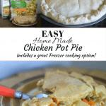 Easy Home Made Chicken Pot Pie recipe