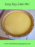 Easy Key Lime Pie - Are you looking for a perfect summer dessert? In our family Key Lime Pie is a family favorite! Key Lime Pie is the perfect balance of sour and sweet! However, I don't love buying a key lime pie because they often taste wrong. Either they are too sweet or too sour. I decided it was time to make my own. This is my tweaked recipe. I hope you enjoy it!