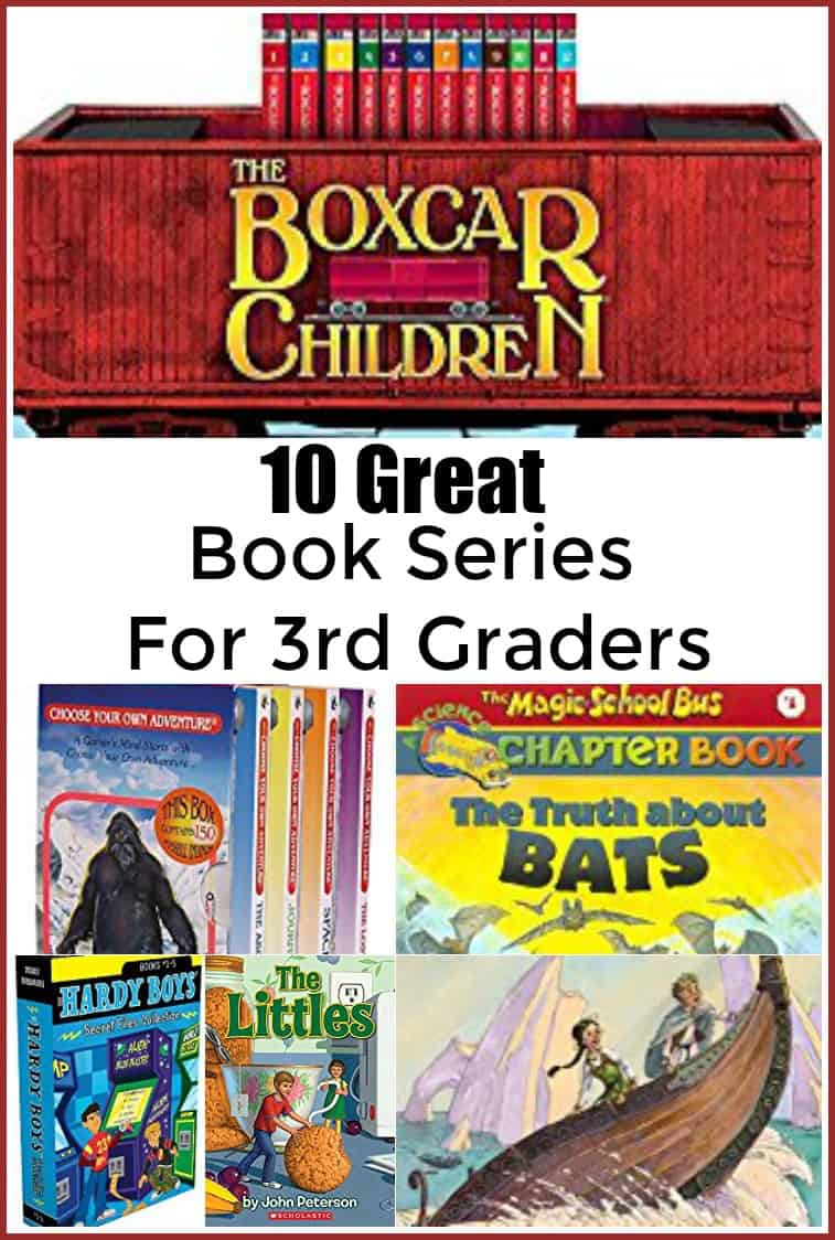 10 Great Book Series for 3rd Graders