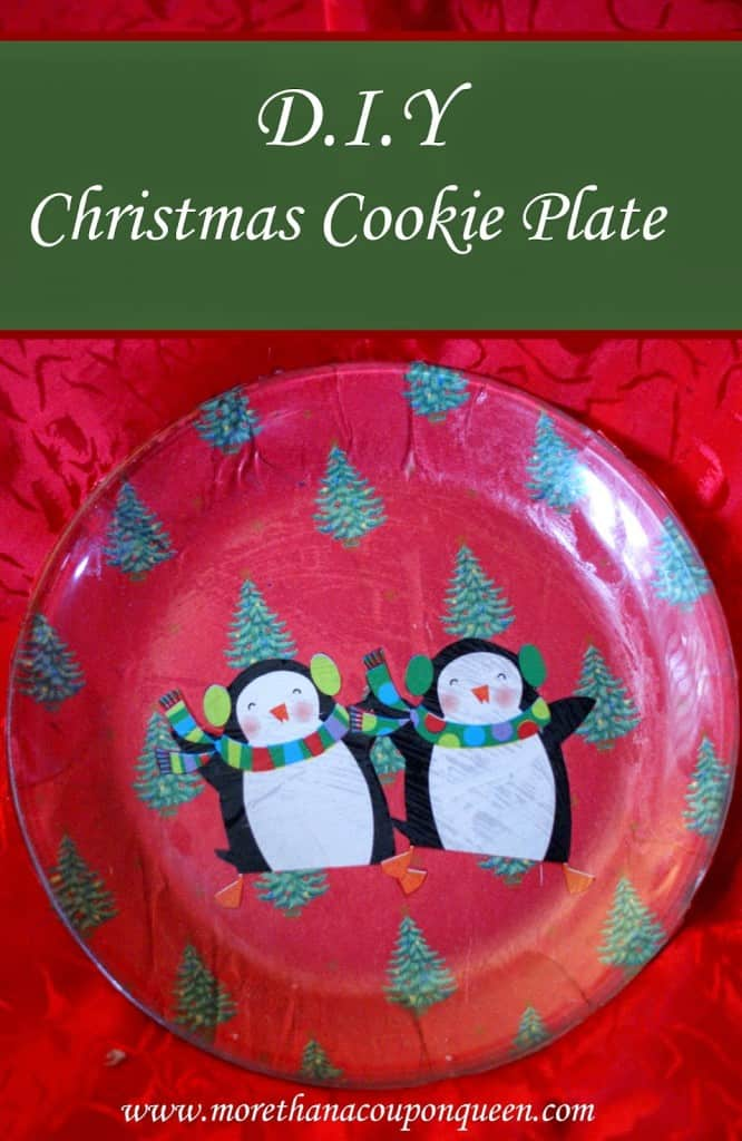 D.I.Y. Christmas Cookie Plate - Perfect Personalized Christmas Gift