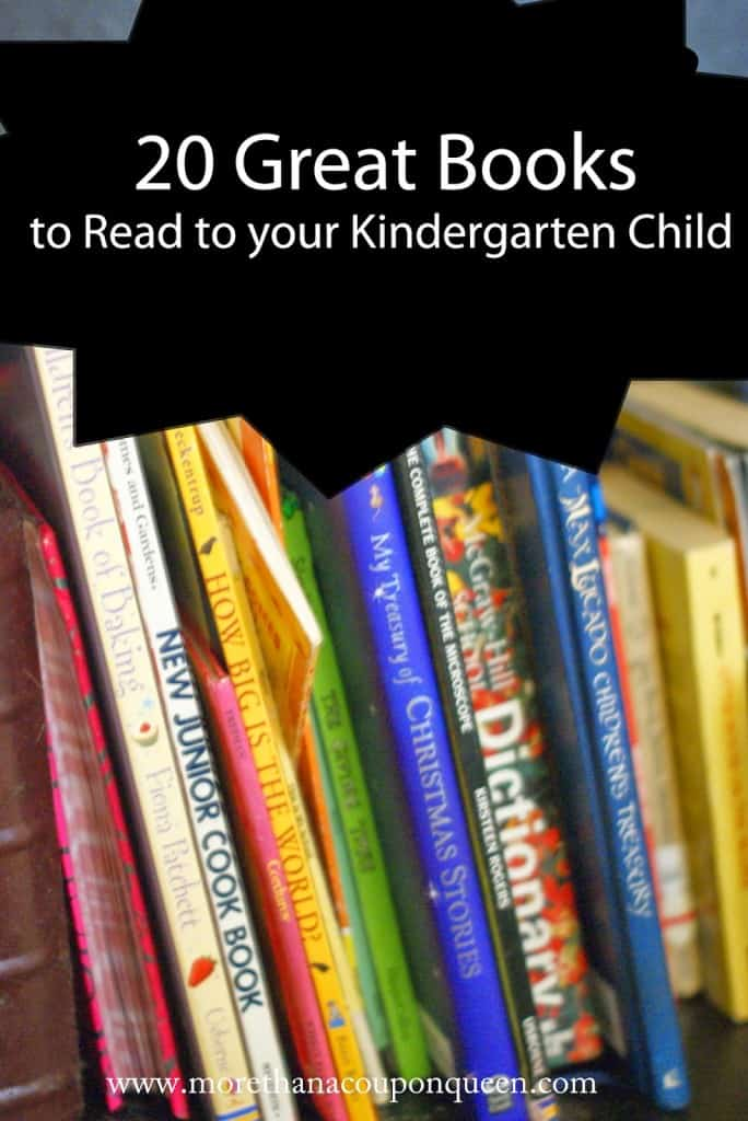 Books for kindergarteners - 20 Great books to read aloud!