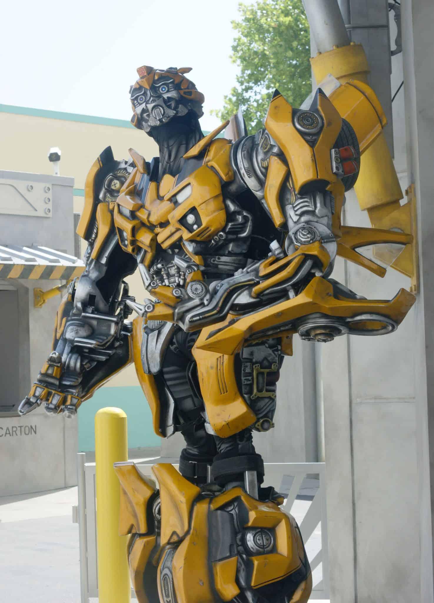 Bumblebee - #UniversalStudios #DiagonAlley #Travel #Florida #orlando #Universal #Transformers
