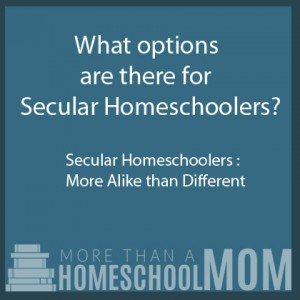 What options are there for Secular Homeschoolers