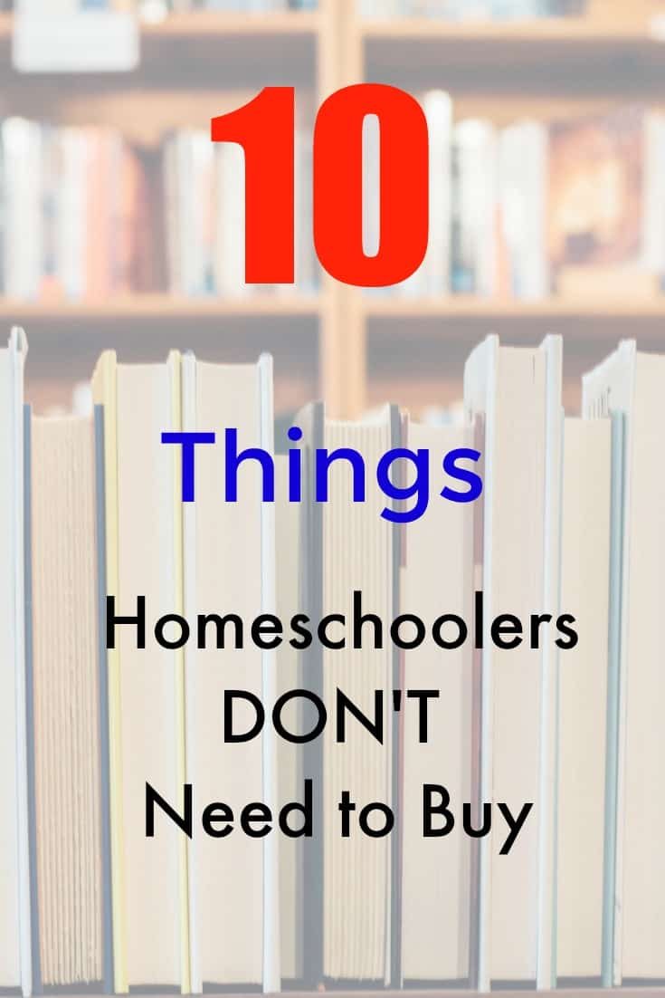 10 Things Homeschoolers Don't Need to Buy this Schoolyear - #homeschool #education #homeschooling #homeschooled #education #edchat #learn