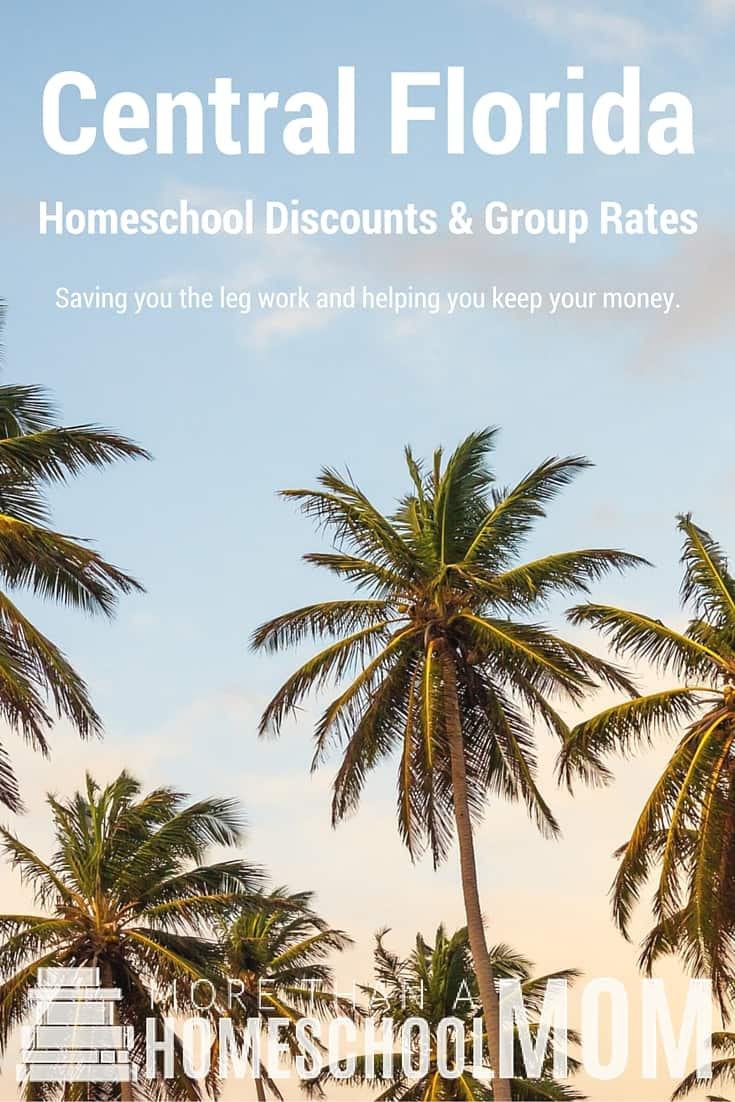 Central Florida Homeschool Discounts and Group Rates
