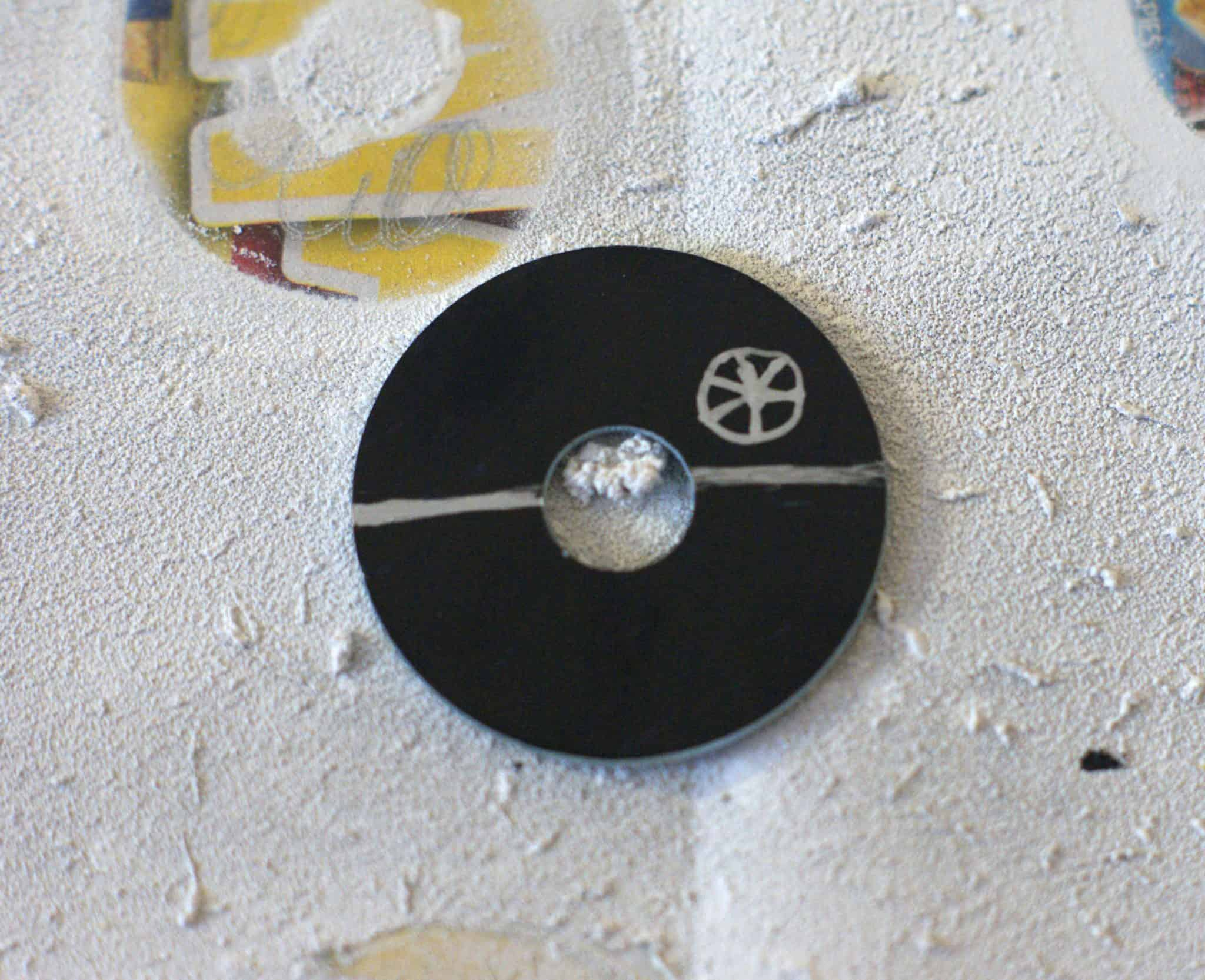 DIY Death Star Washer Necklace