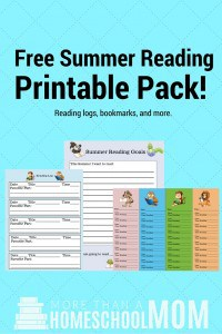 Free Summer Reading Printable Pack