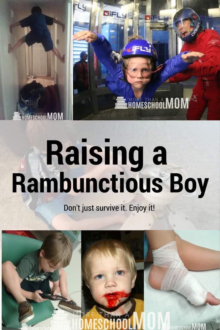 Raising a Rambunctious Boy