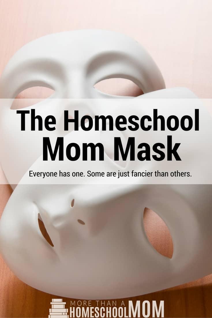 The Homeschool Mom Mask