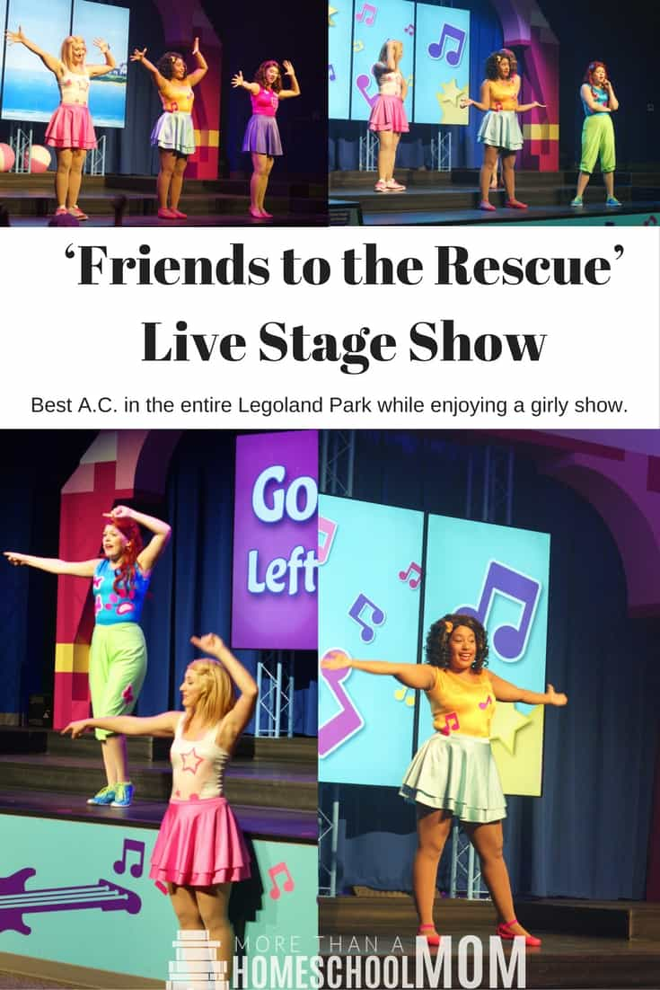 Friends to the Rescue Live Stage Show - #legoland #lego #florida #centralflorida #travel #traveltips