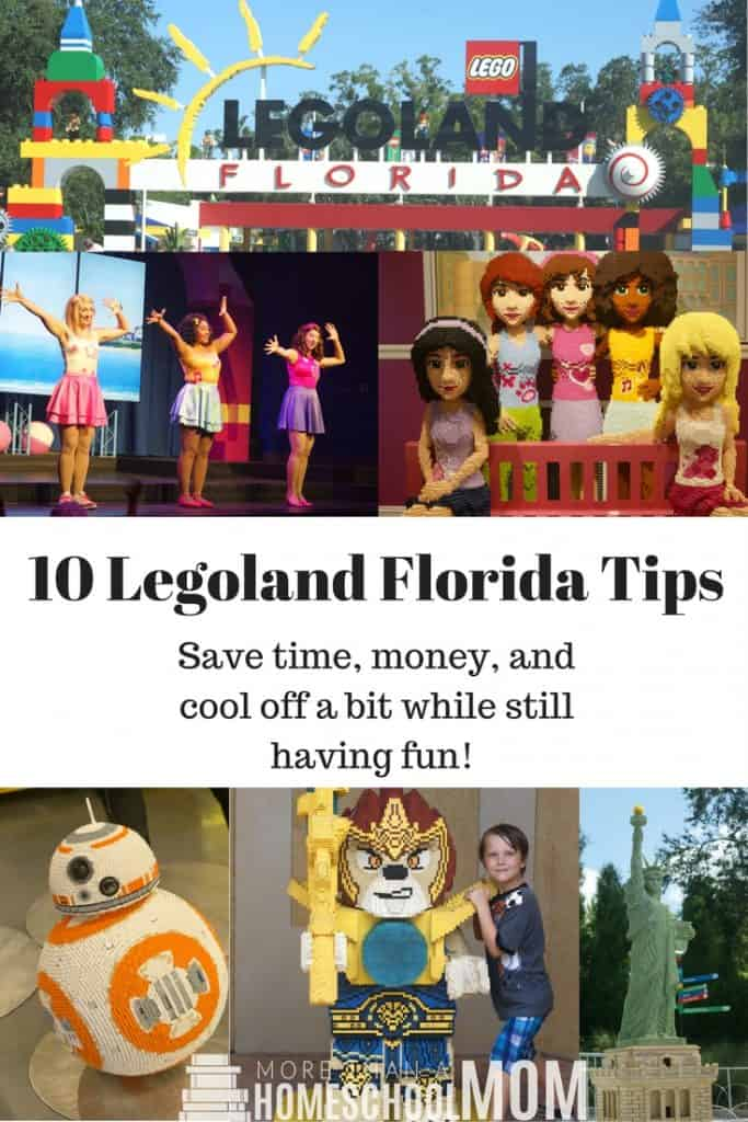 10 Legoland Florida Tips - Save time, money, and cool off a bit while still having fun!