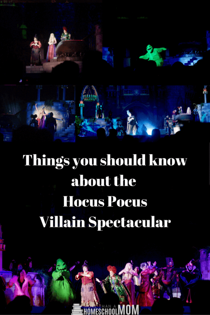Things you should know about the Hocus Pocus Villain Spectacular - Mickey's Not So Scary Halloween Party Tips and Tricks