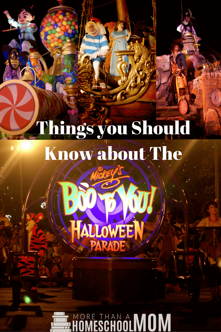 Things you should know about the Boo To You Halloween Parade - MIckey's Not So Scary Halloween Party Tips and Tricks