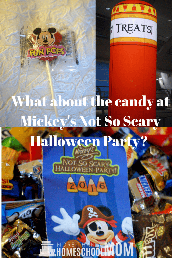 What about the candy at Mickey's Not So Scary Halloween Party? - Mickey's Not So Scary Halloween Party Tips and Tricks