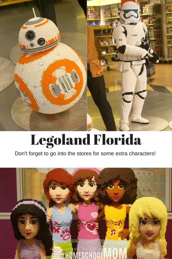 Legoland Florida Hidden Characters