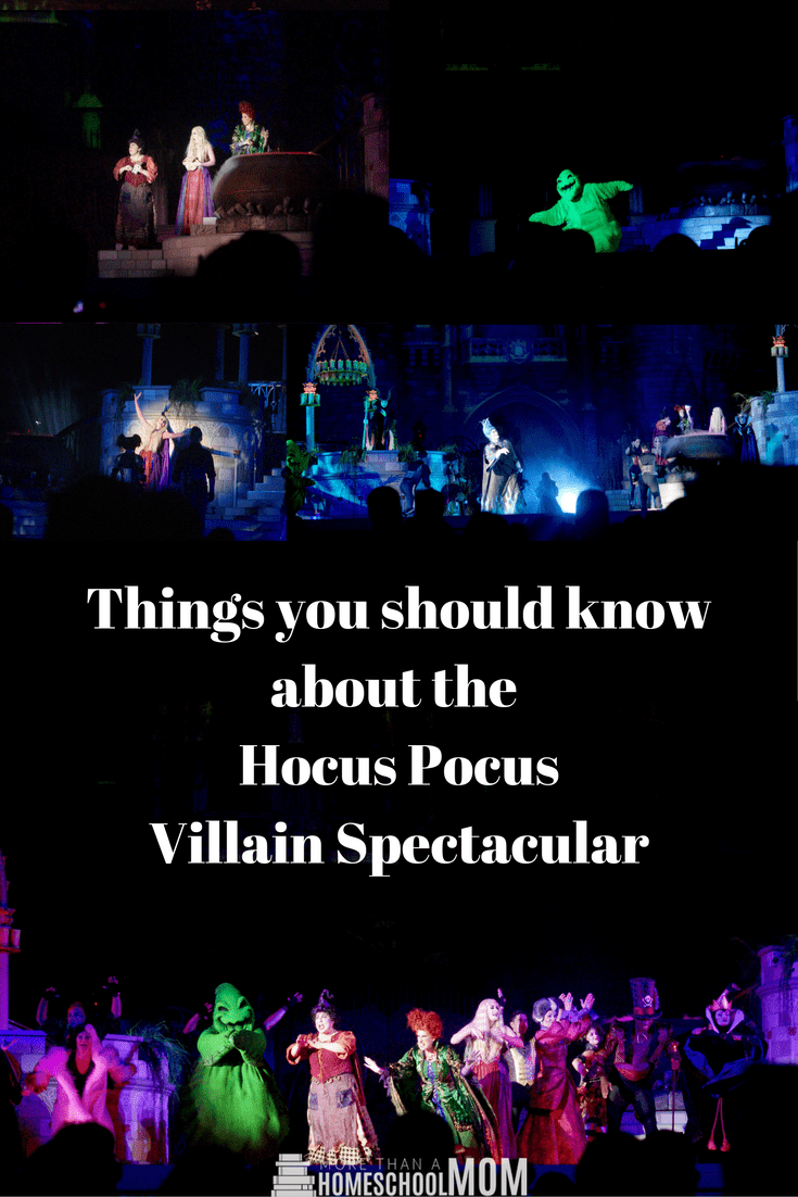 Things you should know about the Hocus Pocus Villain Spectacular