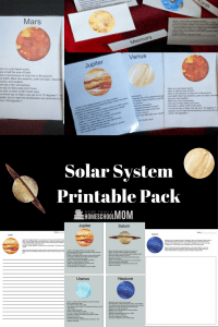 Solar System Printable Pack