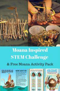 & Free Moana Activity Pack