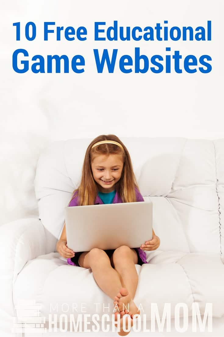 10 Free Educational Game Websites