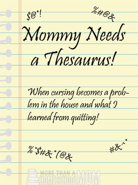 Mommy Needs a Thesaurus