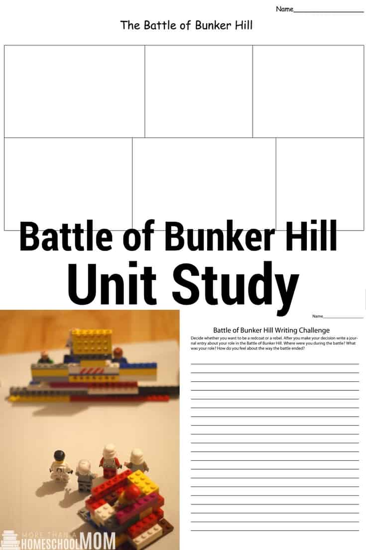Battle of Bunker Hill Unit Study
