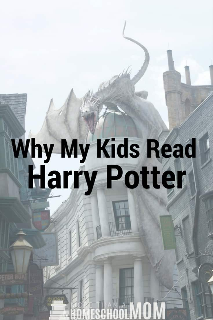 Why My Kids Read Harry Potter - Should your kids read Harry Potter? Find out in this great post.