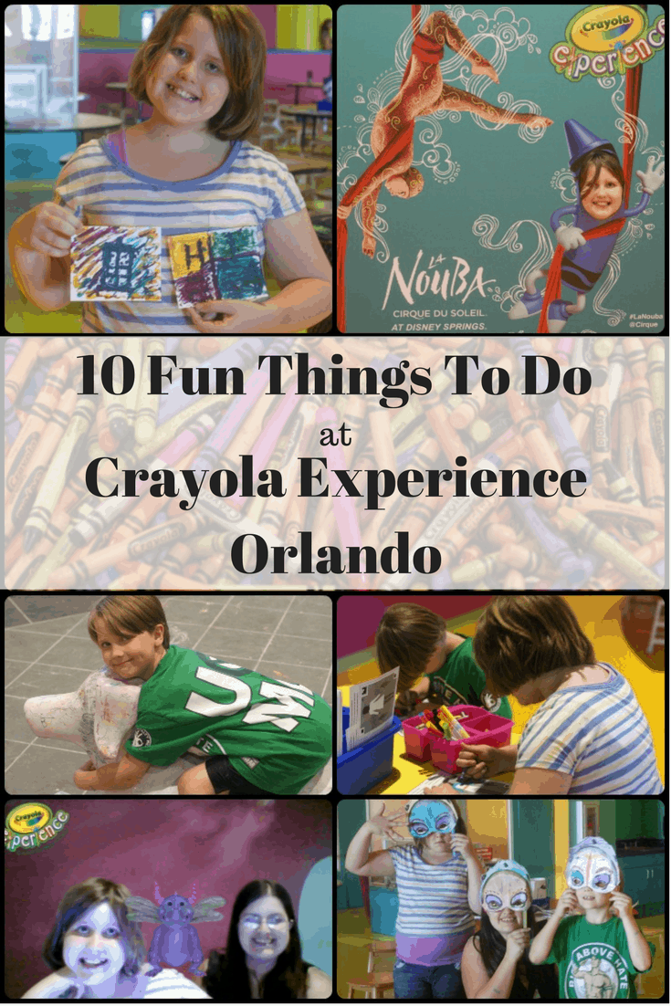 10 Fun Things To Do at Crayola Experience Orlando - Includes Crayola Experience Homeschool Disounts and Crayola experience coupon codes
