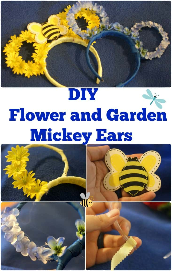 DIY Flower and Garden Mickey Ears