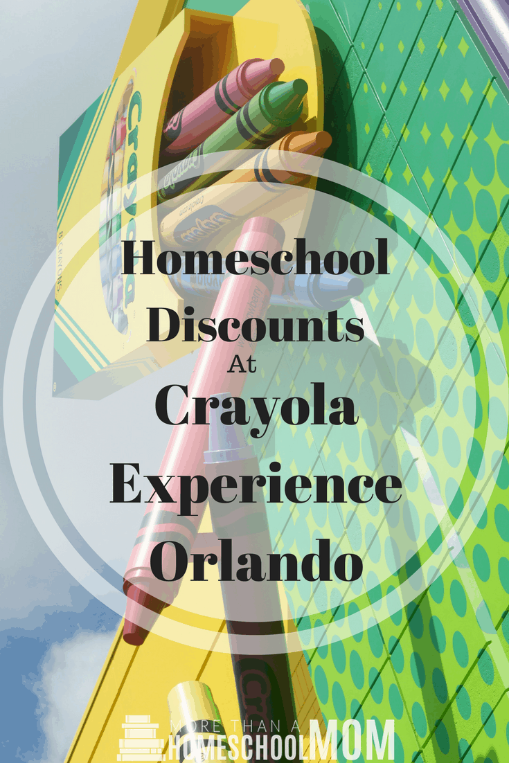 homeschool discounts at crayola experience orlando fun things to do