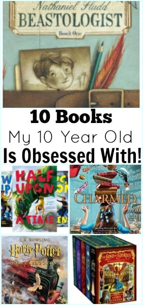 10 Books my 10 Year Old is Obsessed With