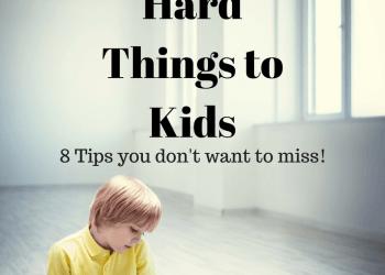 Explaining Hard things to Kids