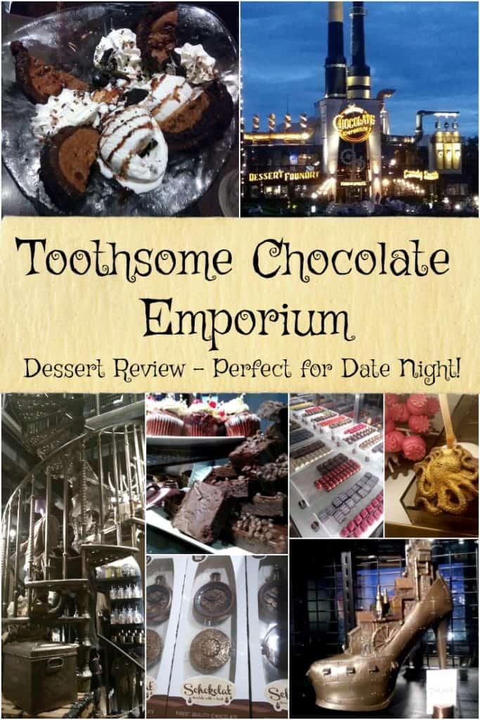 Toothsome Chocolate Emporium - Dessert Review - Perfect for Date Night at City Walk Orlando