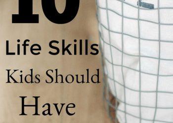 Life Skills Kids Should Have