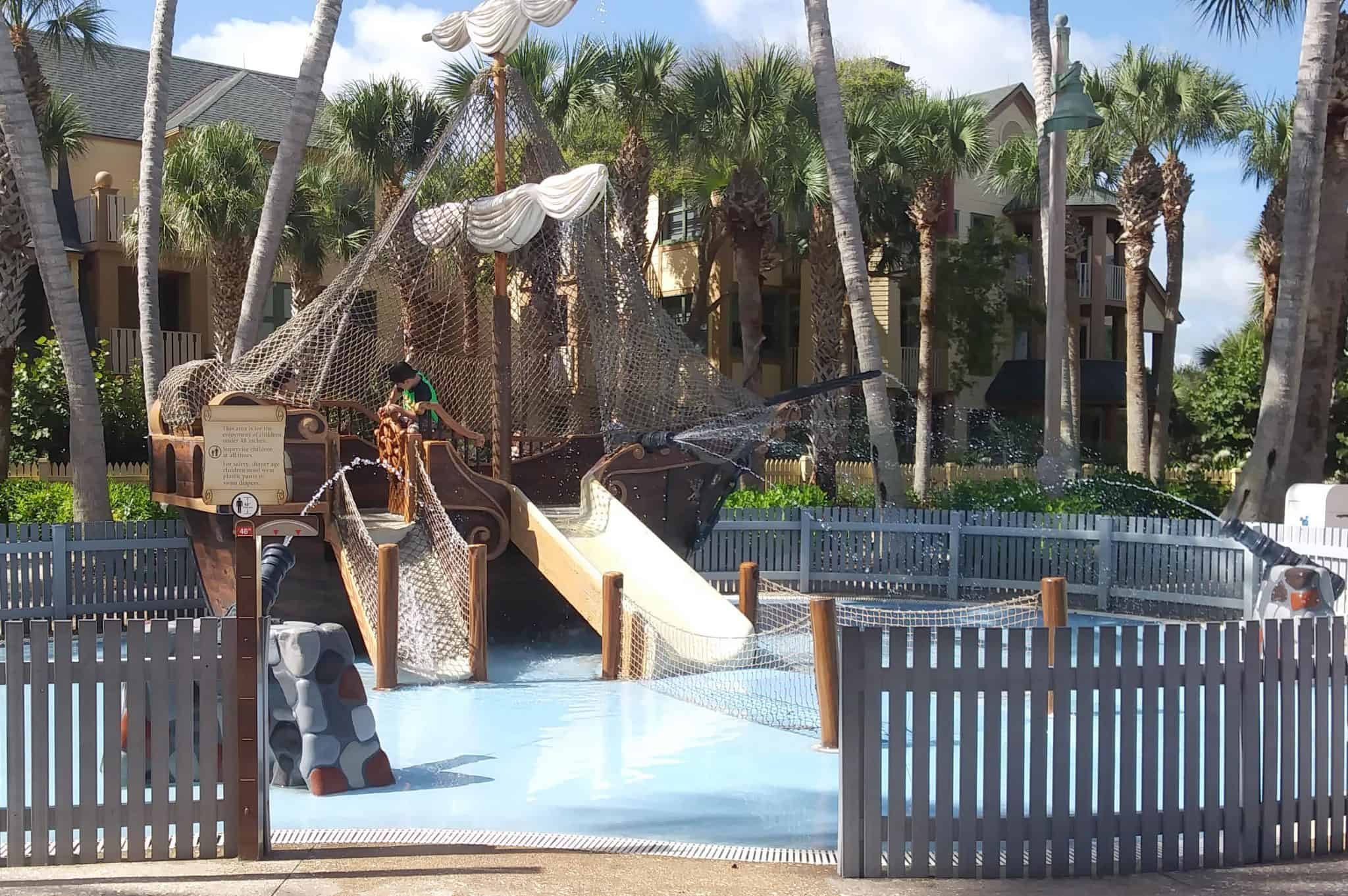 Disney's Vero Beach Resort - Pirate Ship