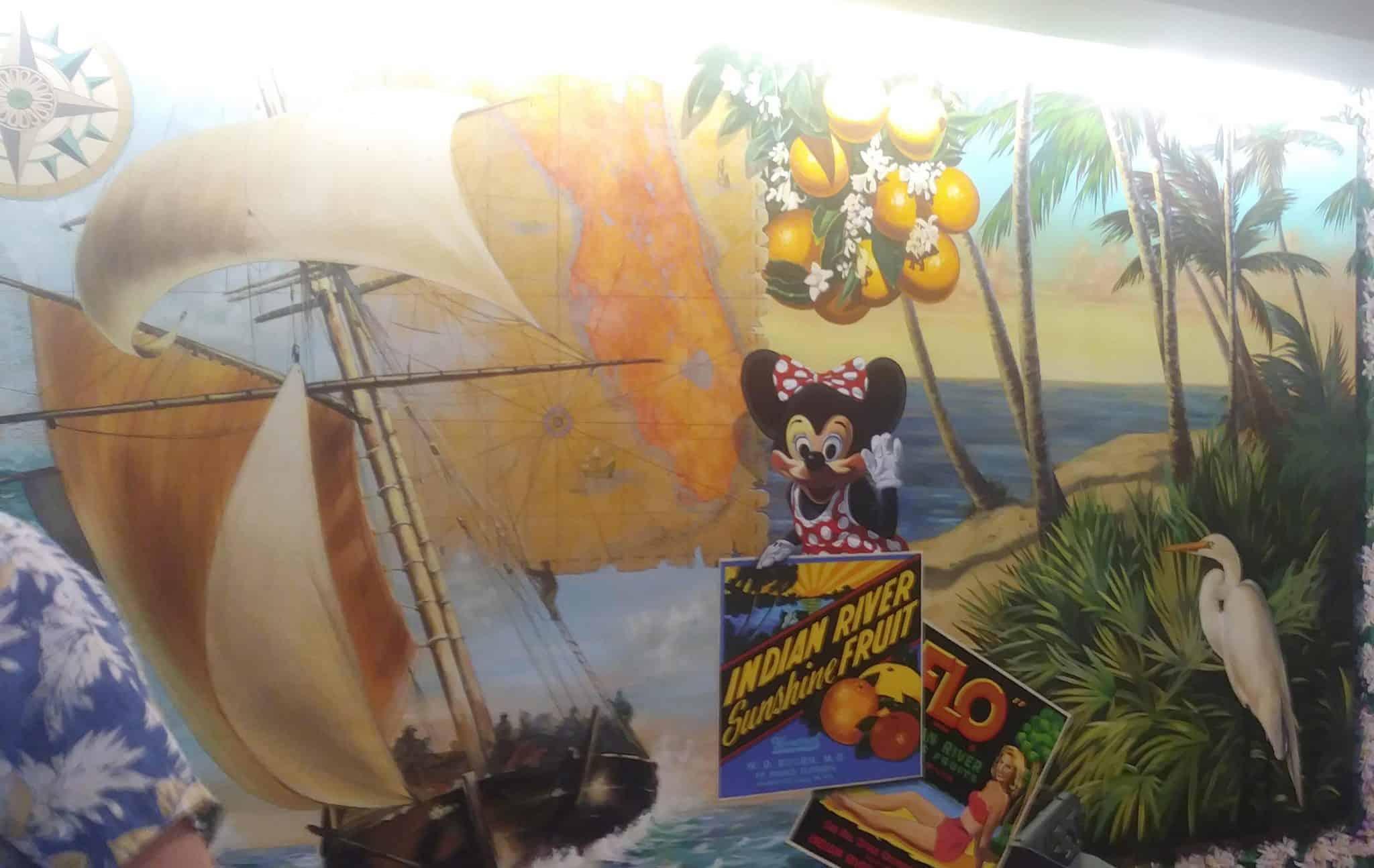 Disney's Vero Beach Resort - Wind & Waves Restaurant - Check-in Area