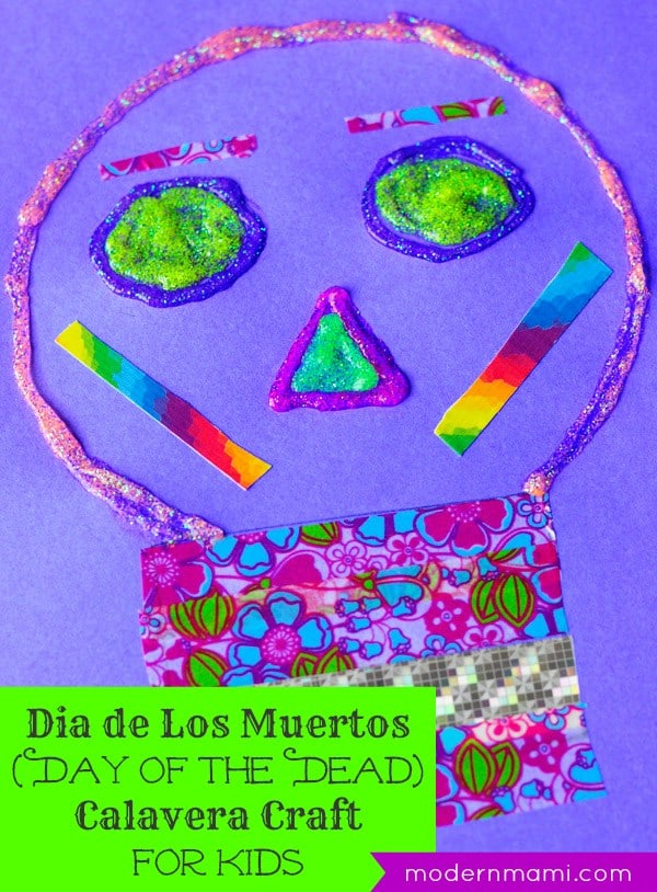 Calavera Craft for Kids from Modern Mami