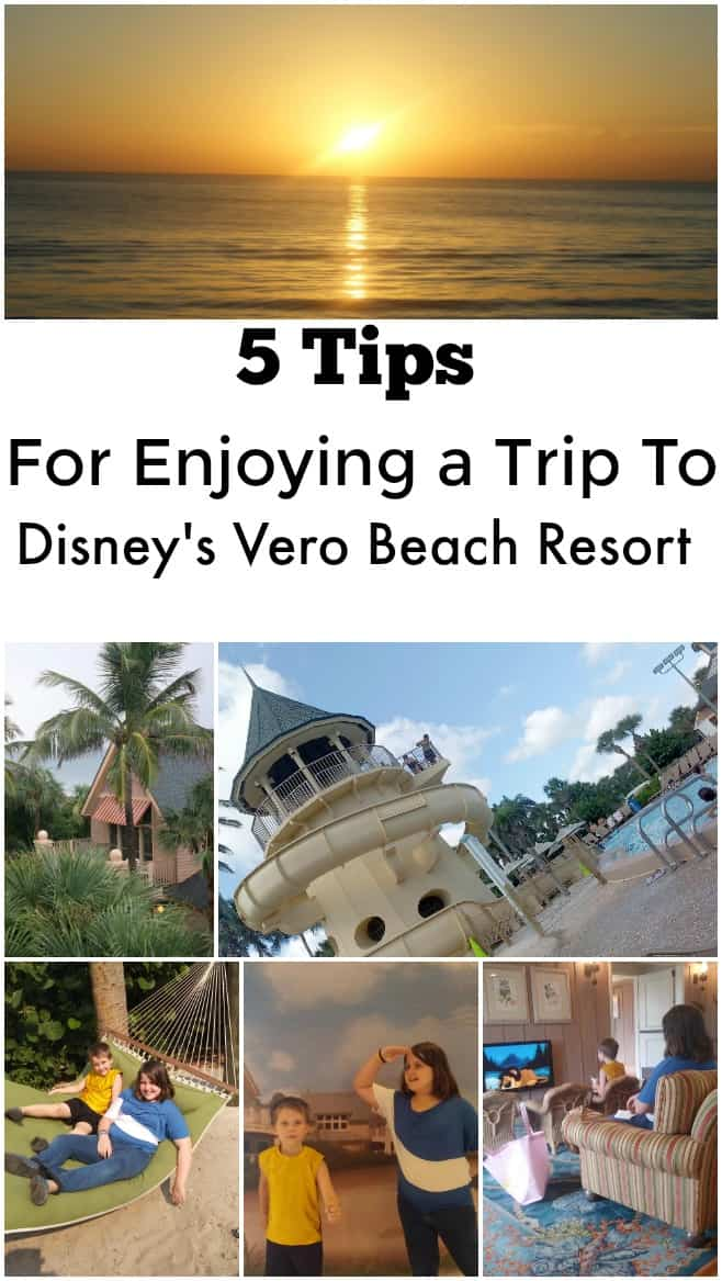 5 Tips for Enjoying a Trip to Disney's Vero Beach Resort