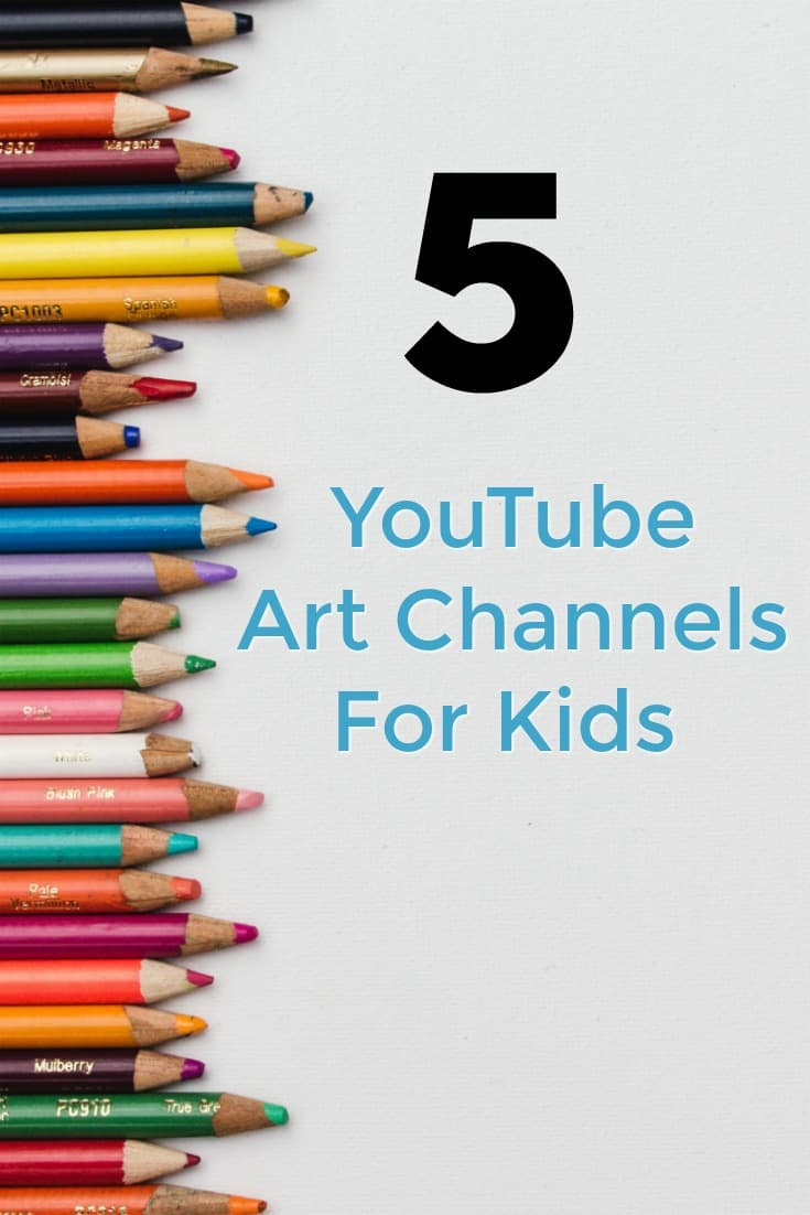 5 YouTube Art Channels for Kids