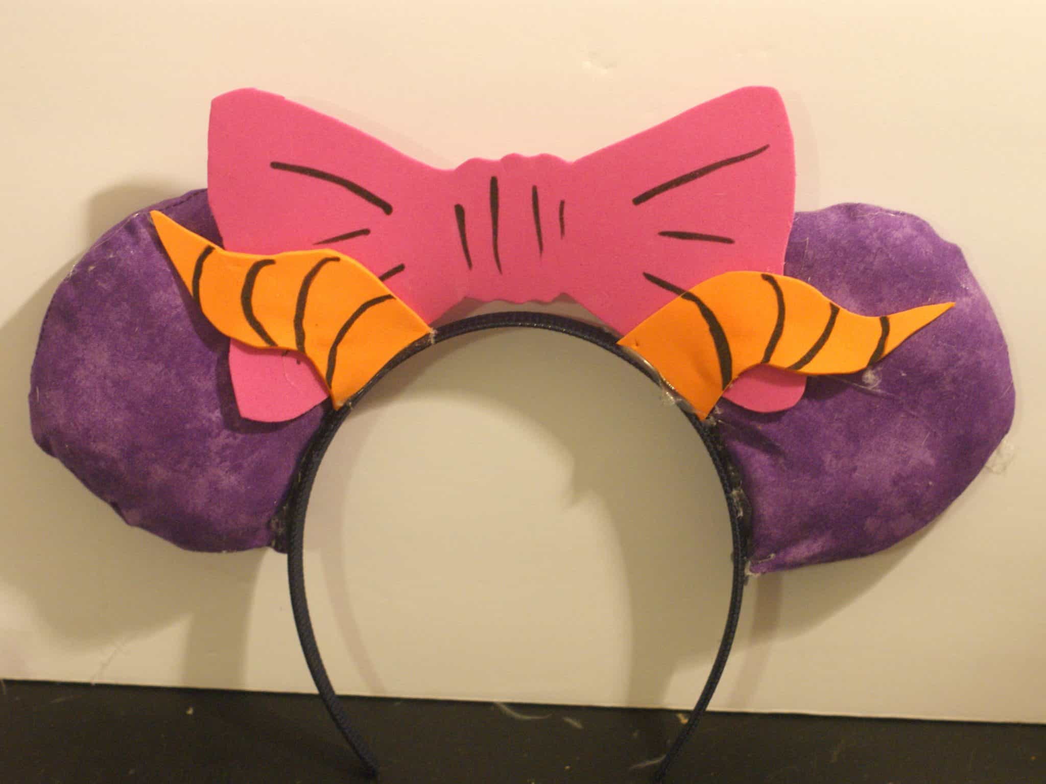 Figment Inspired Mickey Ears DIY