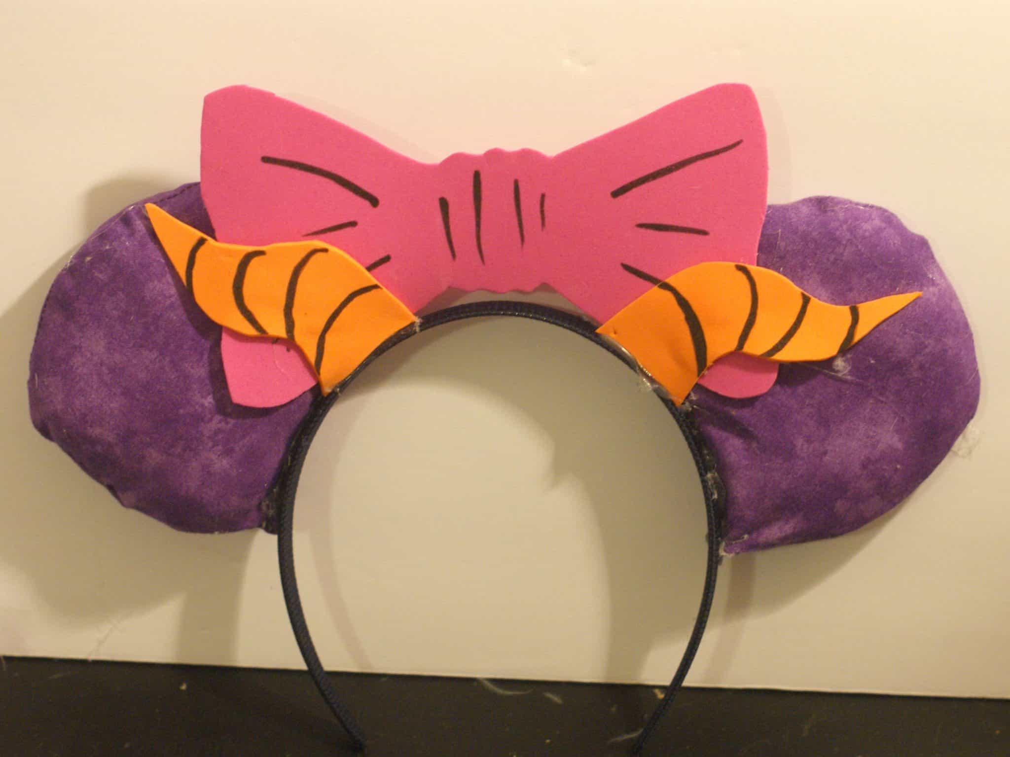 Figment Inspired Mickey Ears DIY