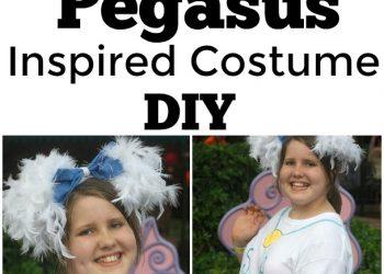 Pegasus Inspired Costume DIY