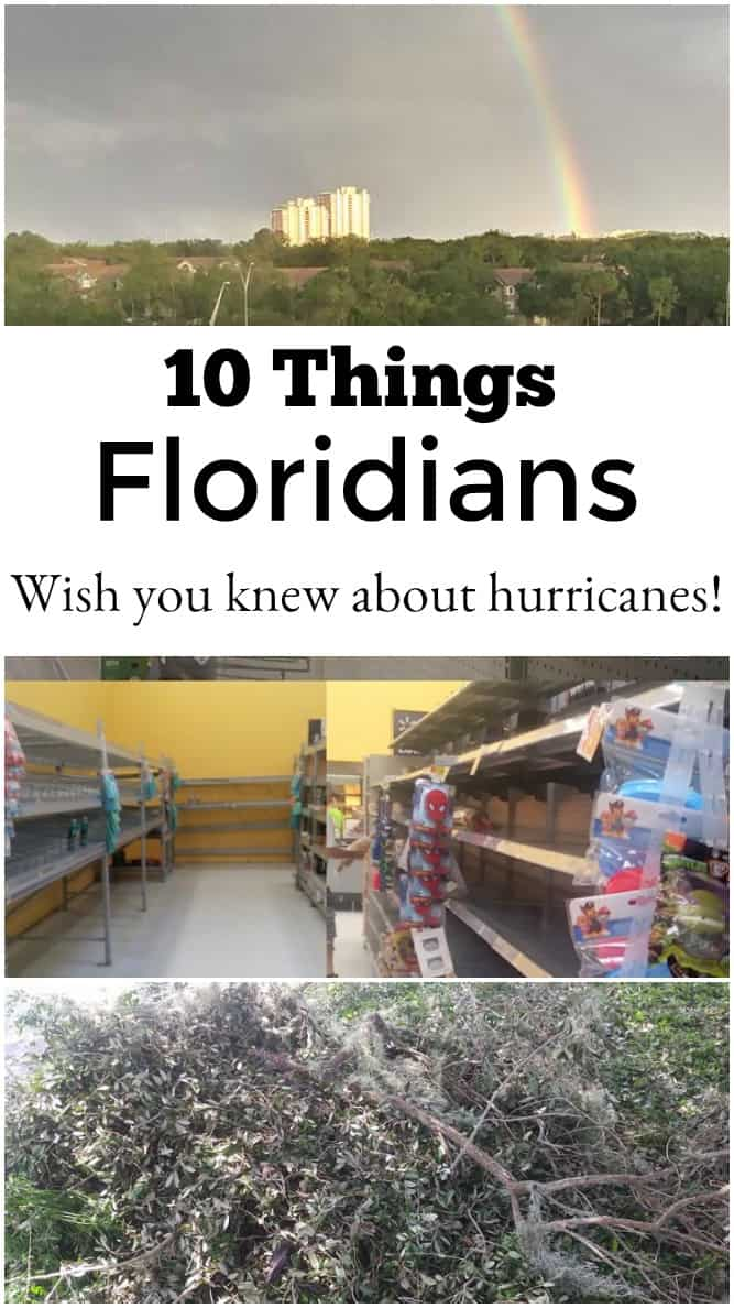 10 Things Floridians Wish You Knew About Hurricanes - #Florida #hurricanes #Hurricane #hurricaneprep